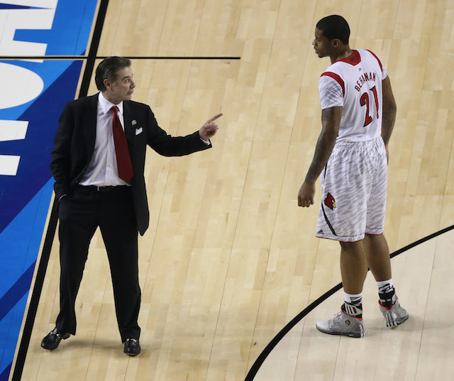 Chane Behanan played a key role in helping leading Louisville to the 2013 national title. (Getty Images)