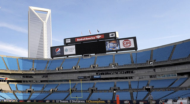 The Belk Bowl in Charlotte is currently home to the ACC. (USATSI)