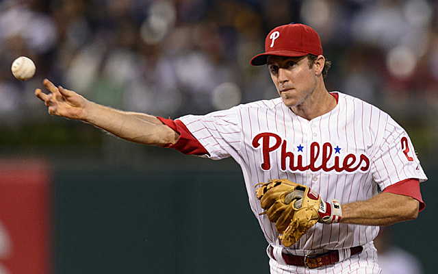 Looks like Chase Utley won't be a free agent after this season.
