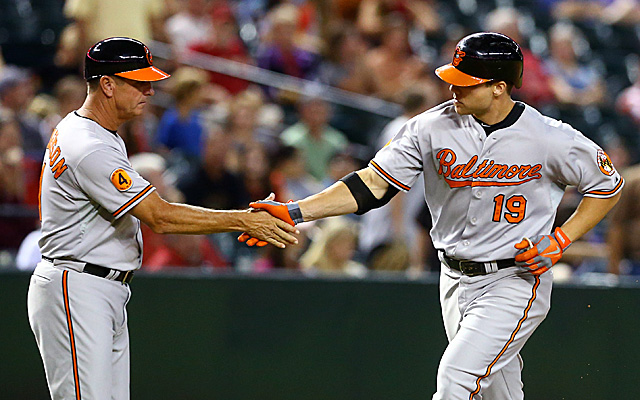 Do you think Chris Davis is dirty just because he's good? If so, strive to be better than that.
