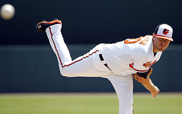 Chris Tillman will make the first opening-day start of his career March 31.