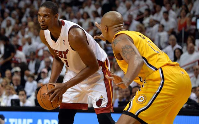 Chris Bosh says he feels renewed after James left.  (USATSI)