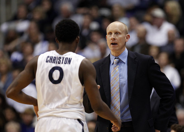 Chris Mack played college basketball at two D-I institutions. (USATSI)