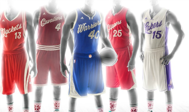 9ff56bdb1bd PHOTOS: NBA unveils Christmas Day jerseys, socks - CBSSports.com