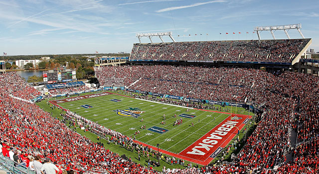 The Citrus Bowl in Orlando will host the new Cure Bowl in 2015. (Getty)