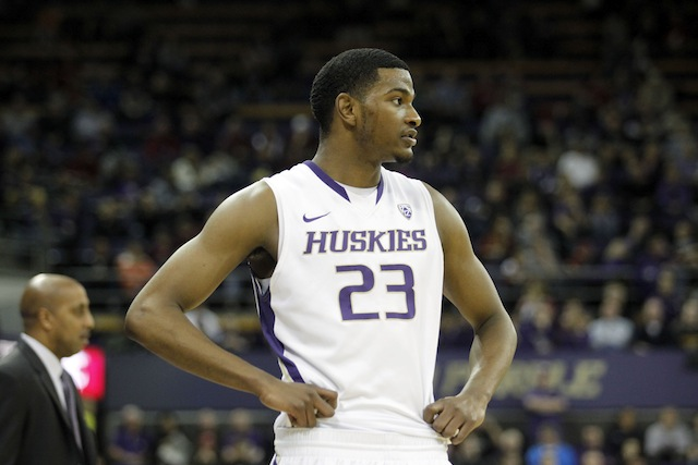 C.J. Wilcox led Washington in scoring last season, averaging 16.8 points. (USATSI)