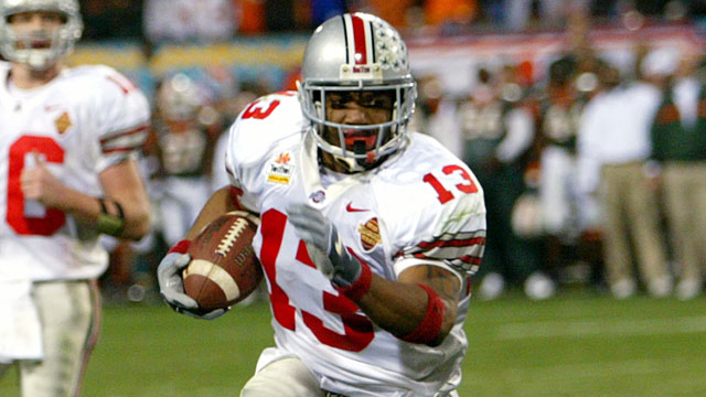 Maurice Clarett sued to join NFL early in 2003. (Getty)