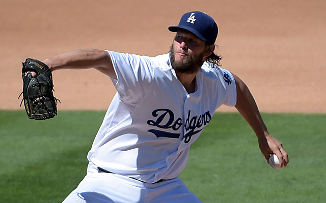 Clayton Kershaw has reached the 300-strikeout threshold.