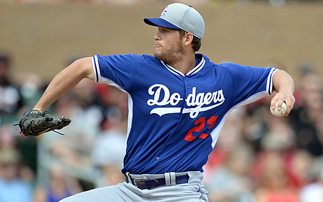 Clayton Kershaw could still start the Dodgers' home opener.