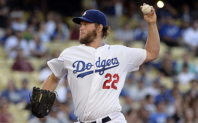 Clayton Kershaw's scorless inning streak has concluded.