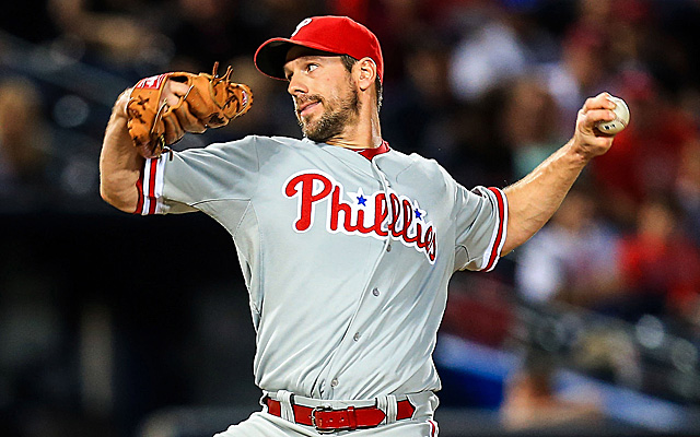 Cliff Lee is among the best pitchers in the majors at getting guys to strikeout looking.