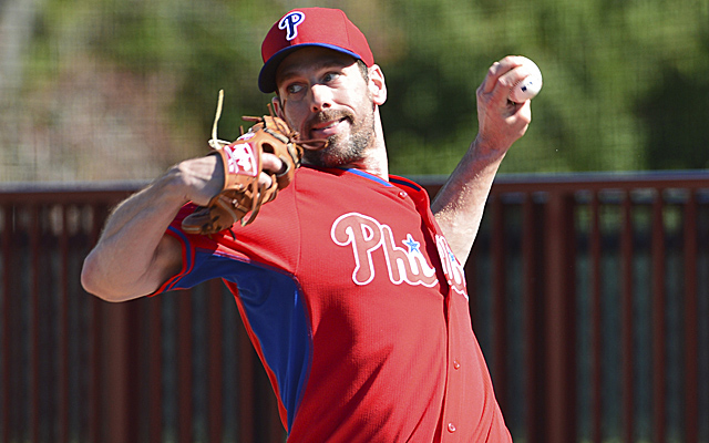 Cliff Lee got an odd gift in the mail this offseason.