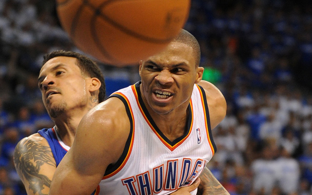 The Clippers and Thunder try and hold each back in Game 3 Friday. (USATSI)