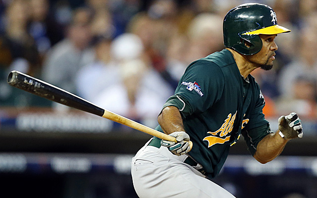Coco Crisp's club option for next season will be picked up by the A's.