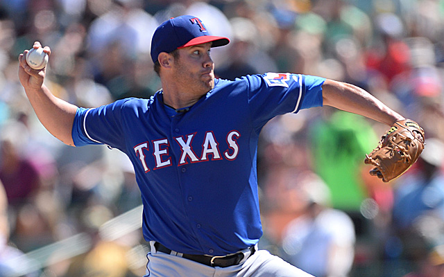 Will Colby Lewis be joining the Rangers' rotation? We'll know soon.