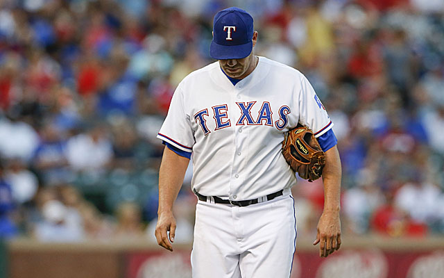 Thursday night was not Colby Lewis' night.