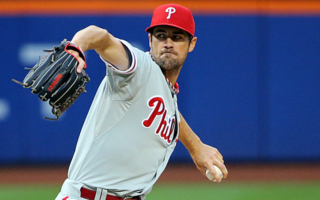 Cole Hamels will remain in Philadelphia for the time being.