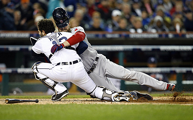 It's becoming more and more likely collisions like this one from ALCS Game 5 will soon be banned