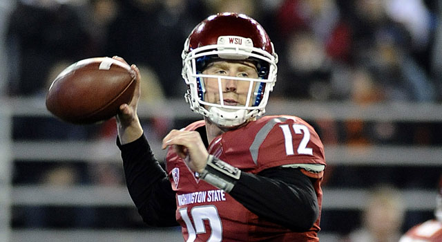 Connor Halliday returns to Washington State after throwing for 4,597 yards last year. (USATSI)