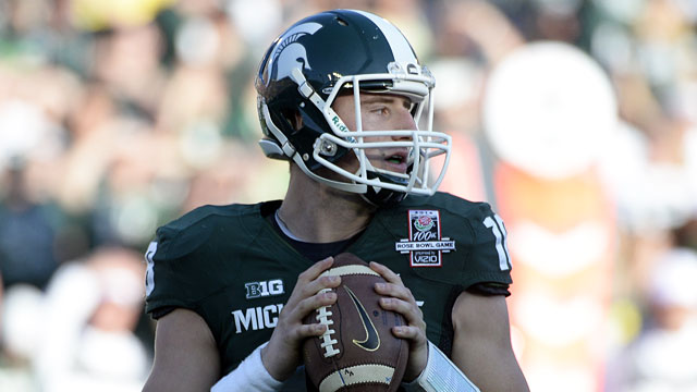 Connor Cook helped Michigan State win the Big Ten and the Rose Bowl. (USATSI)