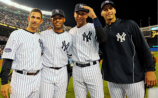 With Jeter's retirement, Yankees will say goodbye to 'Core Four' era