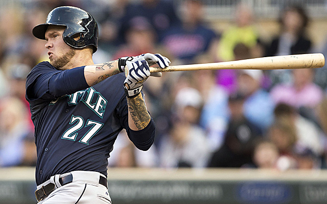 Corey Hart will return to the Mariners lineup Friday.