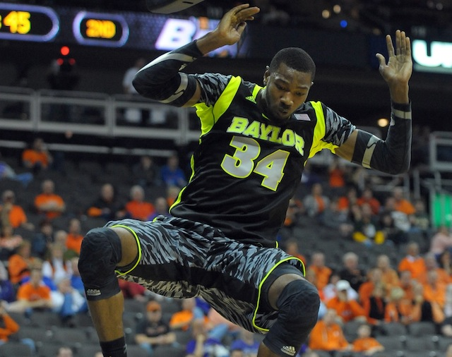 Baylor forward Cory Jefferson could take an even bigger step forward next season. (USATSI)