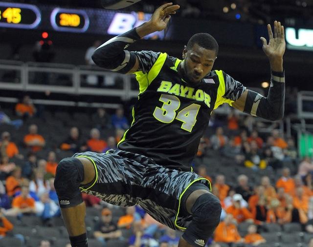 Baylor forward Cory Jefferson could take an even bigger step forward next season. (USATSI)