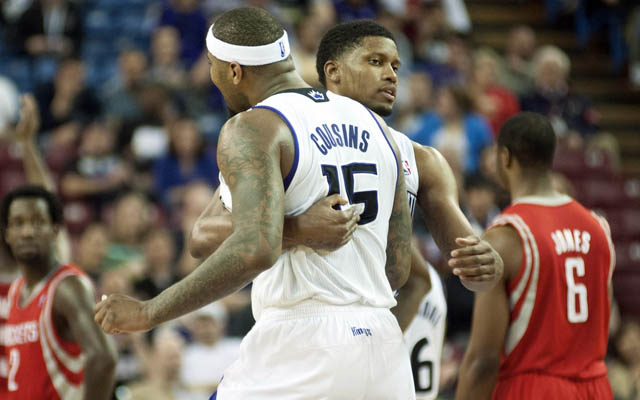 Can Boogie Cousins bring Rudy Gay back to NoCal?  (USATSI)