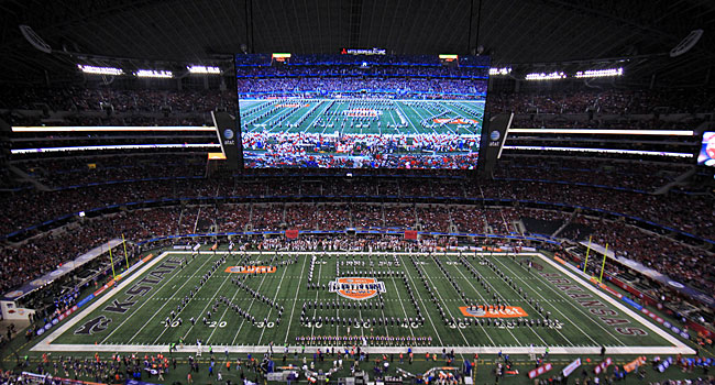 Cowboys Stadium will host the first playoff Championship game and the Cotton Bowl in 2015. (USATSI)