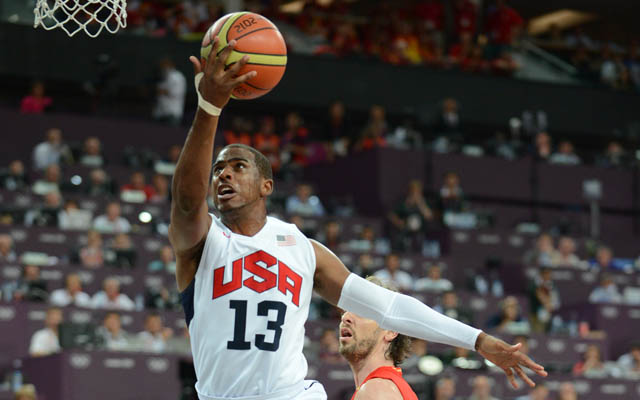 Chris Paul is considering the 2016 Olympics.  (USATSI)