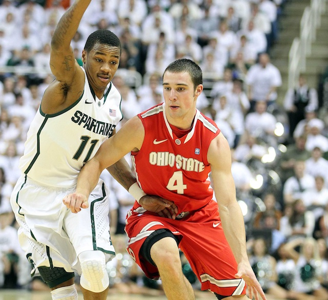 The battle between senior point guards Keith Appling and Aaron Craft will be huge on Tuesday. (USATSI)
