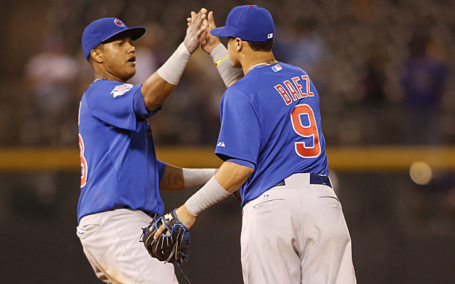 Starlin Castro and Javier Baez could team up the middle for a while in Chicago. (USATSI)