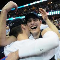 Nikola Cvetinovic celebrates the MAC title