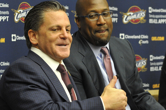 After four years of failure, Dan Gilbert is all smiles.  (USATSI)