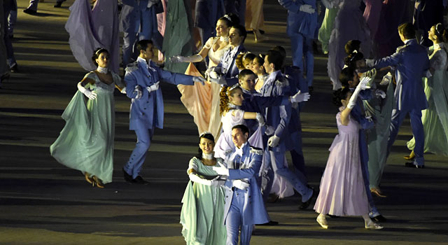 Dancers perform during the Opening Ceremony. (USATSI)