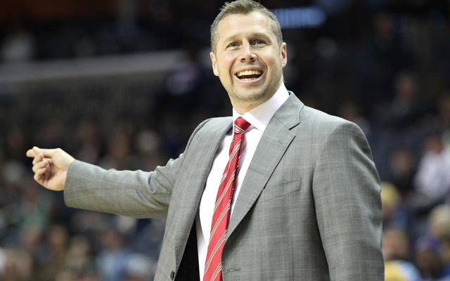 Dave Joerger is the guy the Wolves want to replace Rick Adelman. (USATSI)