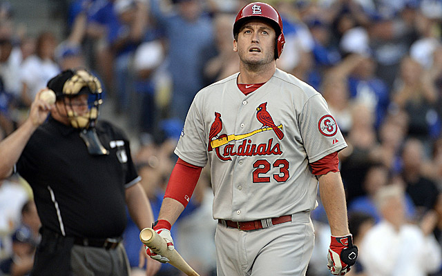 For the second straight game, David Freese exited early with a calf problem.