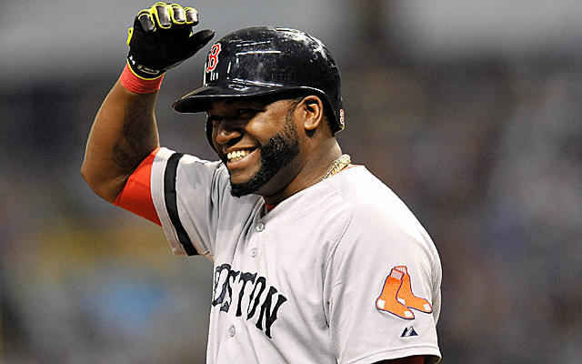 Big Papi has joined lofty company with his 50th postseason RBI.