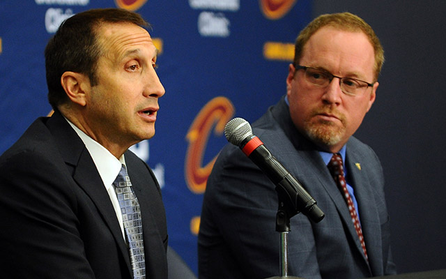 David Griffin discussed his decision to fire David Blatt on Friday. (USATSI)
