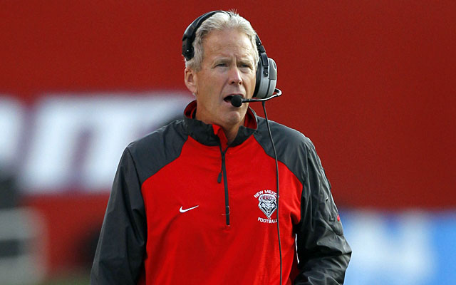 Bob Davie took over at New Mexico in 2012 after being fired from Notre Dame in 2001. (USATSI)