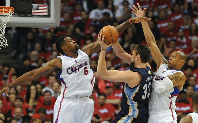 DeAndre Jordan has improved on defense this season.  (USATSI)