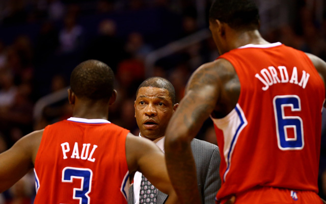 Doc Rivers says the Clipper defense isn't there yet. (USATSI)