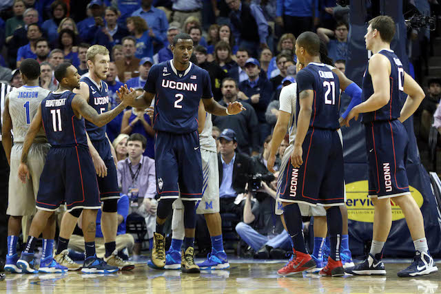 UConn was a 83-73 winner at Memphis when the teams met on Jan. 16. (USATSI)