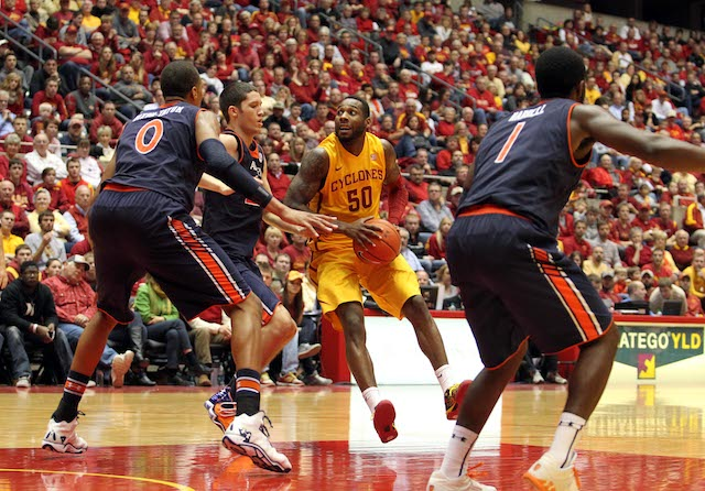 DeAndre Kane is averaging 15.4 points, 8.0 rebounds and 5.3 assists for 7-0 Iowa State. (USATSI)