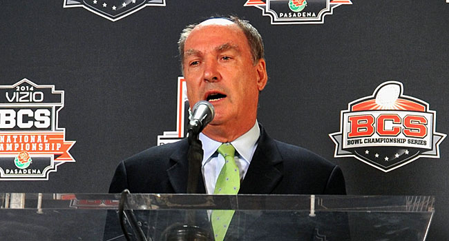 Jim Delany said the BCS did a lot of good, but it also became a burden