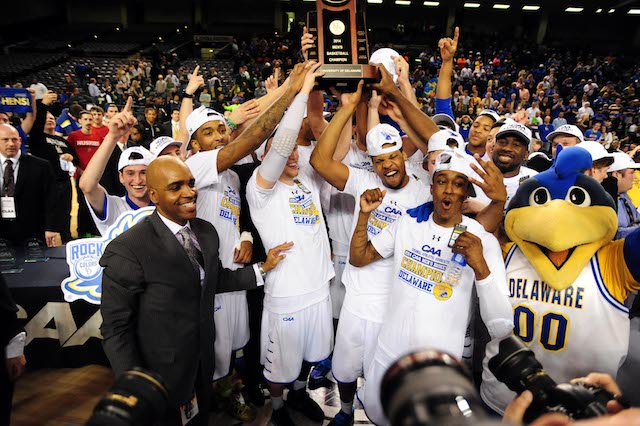 Delaware made its first appearance in the CAA title game -- and won. (USATSI)