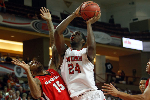 De'Mon Brooks and Davidson have clinched a share of the Southern Conference title. (USATSI)