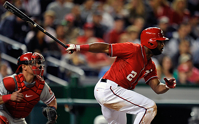Denard Span has hit safely in 28 straight games.