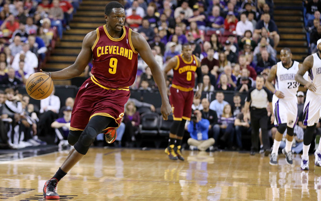 Luol Deng is reportedly unhappy in Cleveland, already. (USATSI)